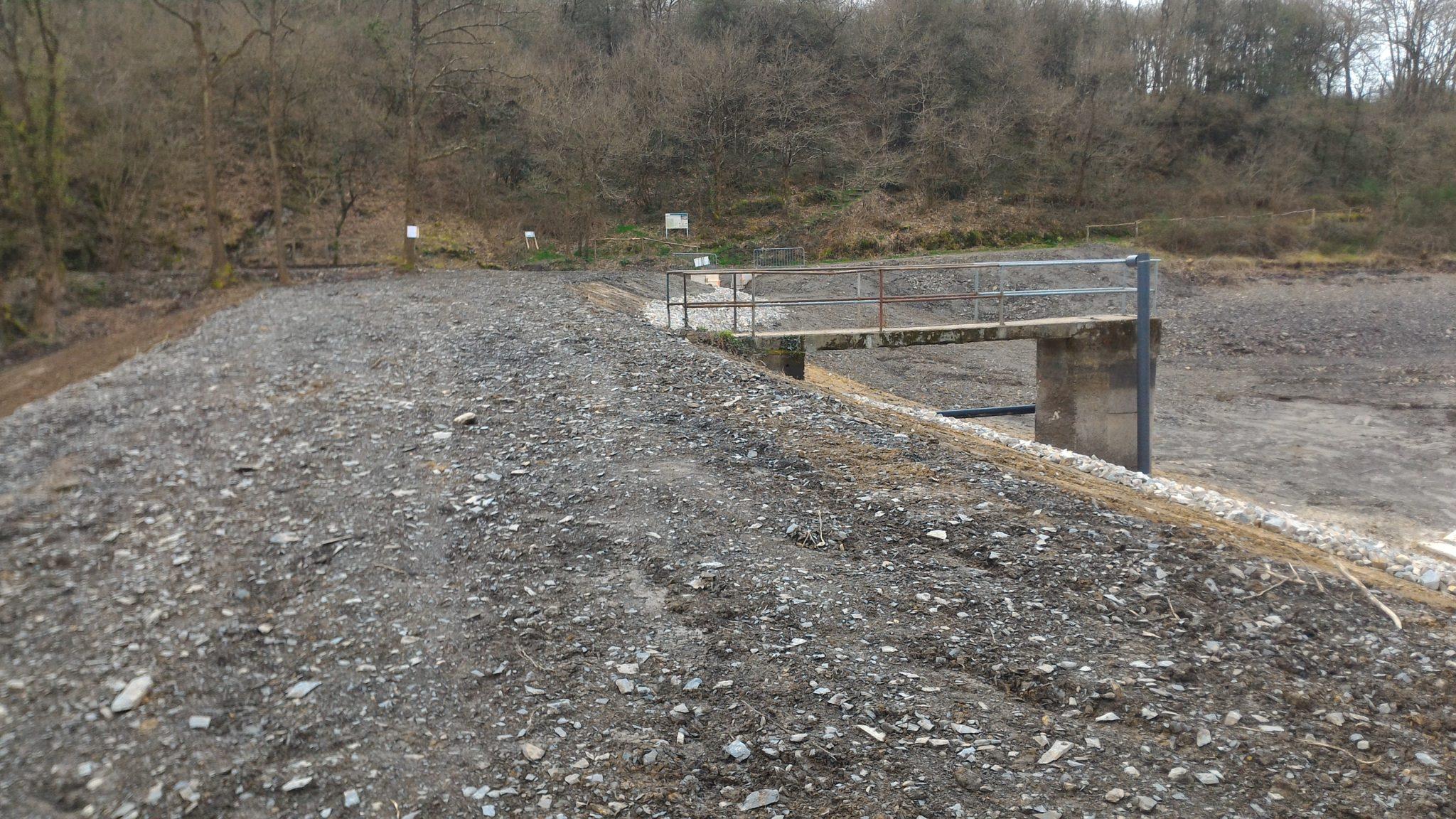 ouvrages hydrauliques étang et vanne