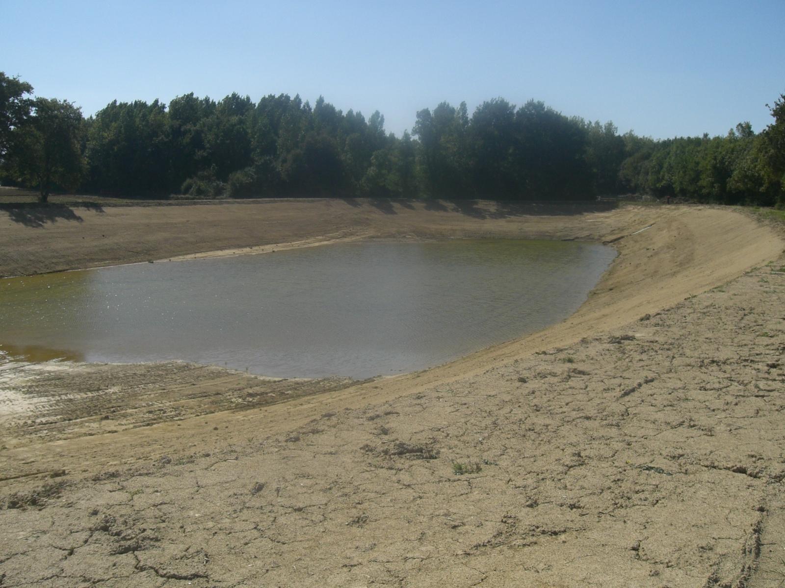 drainage - bassin en eau
