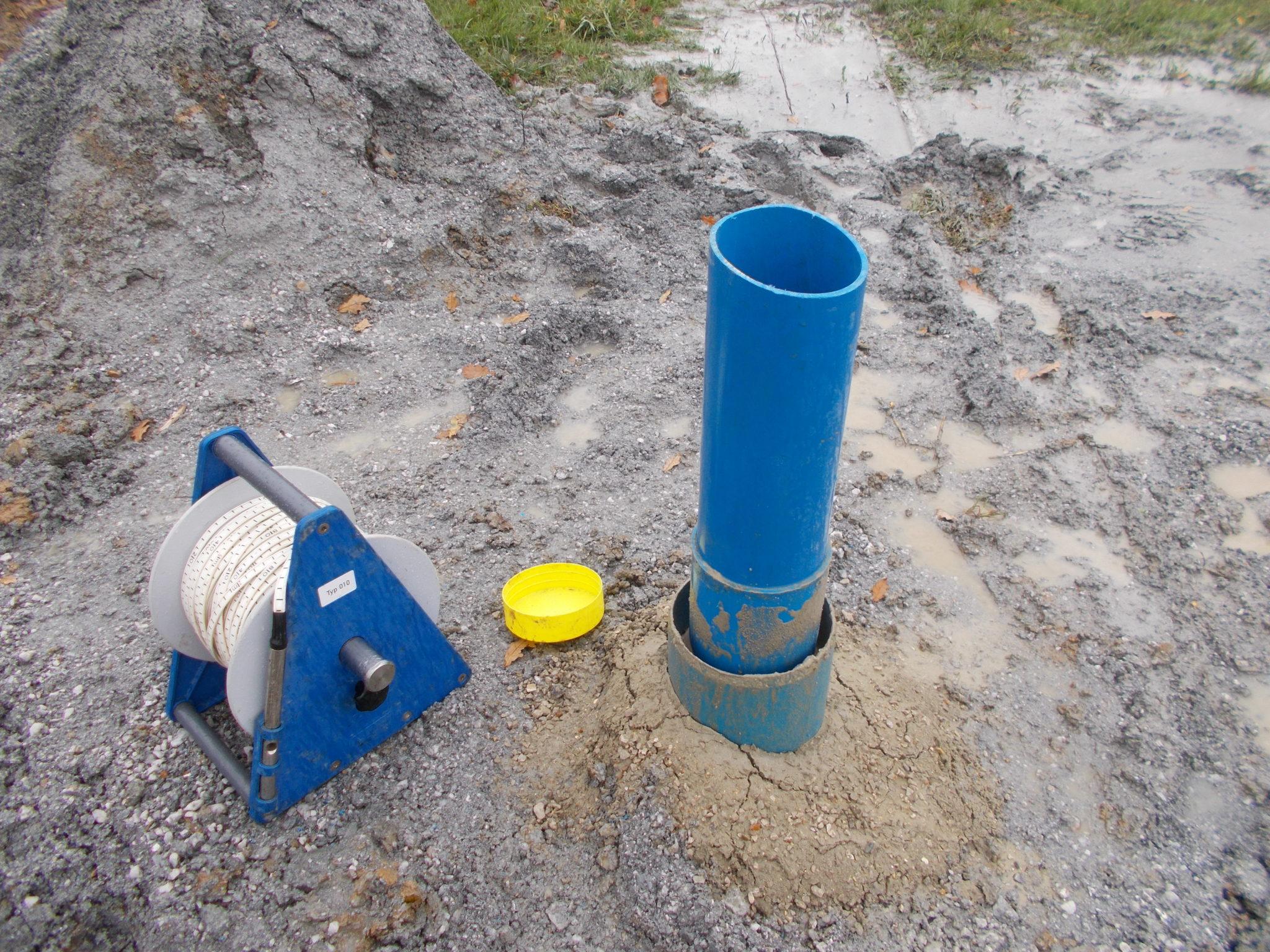 essai de pompage forage en eau